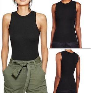 Debra DerRoo women's silk sleeveless top shirt